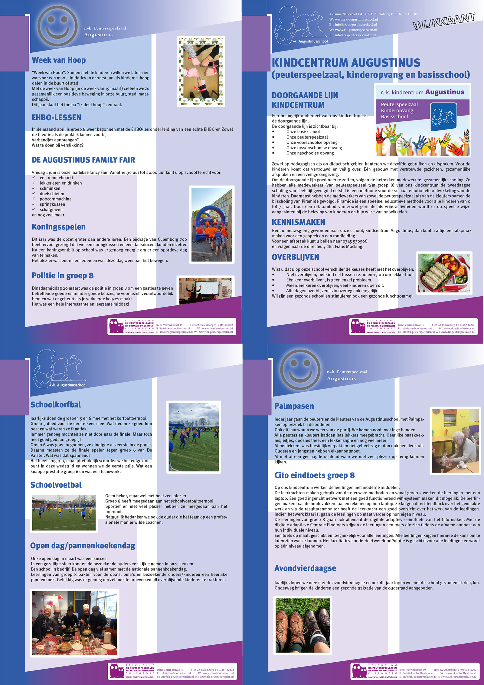 Wil je een brochure laten drukken of een brochure laten ontwerpen. Neem vrijblijvend contact met ons op voor een mooi ontwerp en een mooi stuk papier!