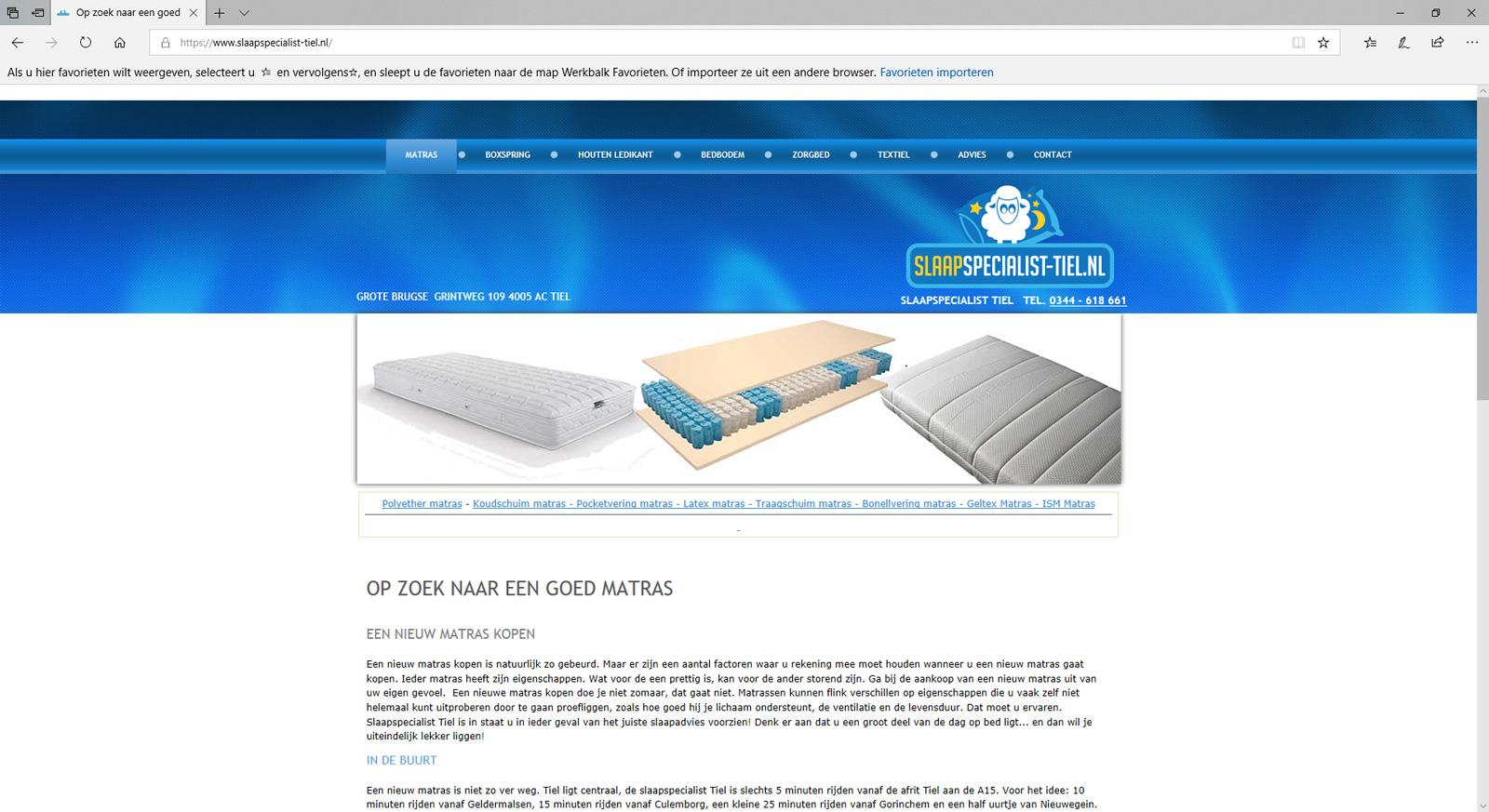 Wil je een website laten maken of wil je een voorbeeld zien van een website, bekijk deze website dan eens.