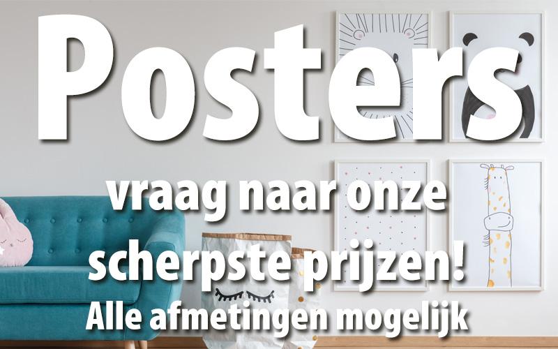 Ben je op zoek naar een bedrijf die posters kan drukken, kijk dan eens bij RTG Reclame. RTG verzorgt ook drukwerk zoals briefpapier, visitekaartjes en websites.